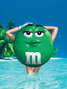 It may be awhile before I get my old self back, but even if I still look like an M&M, at least I'm feeling better!