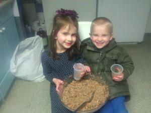 We love making charoses!
