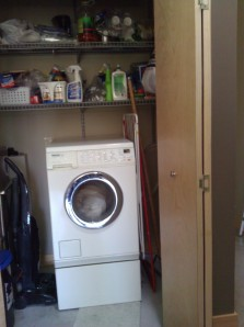 My Miele washing machine