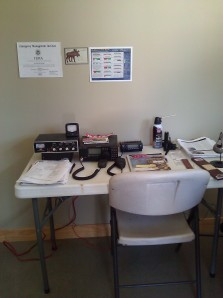 The Man Cave:  Amateur (Ham) Radio Station