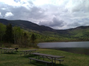 The Basin in Evans Notch, site of my picnic lunch
