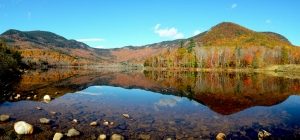 Basin Pond, Evans Notch Oct 17, 2013