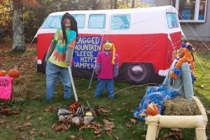 Feelin' Groovy  (the VW van play tent was for sale inside the store)