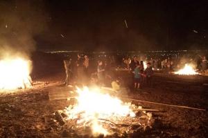 Moreshet bonfires