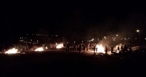 The many bonfires of Moreshet on Lag B'Omer