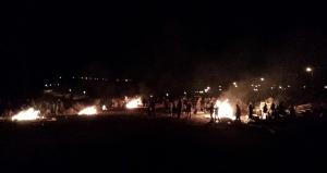 The many bonfires of Moreshet on Lag B'Omer