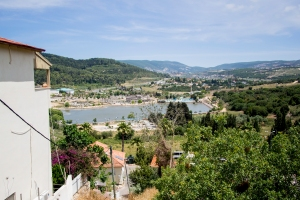 The northern city of Maalot, which is practically on the Lebanese border, is filled with parks.  It even has a man-made lake where there is a paddleboat concession.