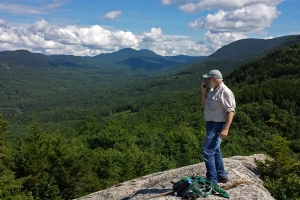 "My husband, a ham radio operator, always enjoys making contact with other ""hams"" whenever we reach a summit."