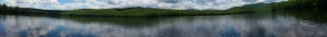 Virginia Lake panorama, Stoneham Maine (click to enlarge)